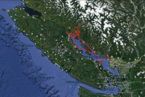 Kanada - Segeln im Land der Schwarzbären, Adler und Wale