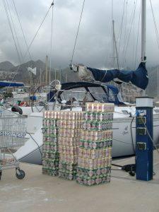 003-dorada-bier - Charterweek Kanarische Inseln 16.02 - 26.02.2005