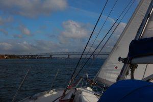SBF See Ausbildungsunterlagen - Segelyacht am Wind