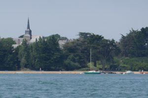 Mit dem gelben Motorboot über den Golf du Morbihan - Südbretagne - Île d'Arz