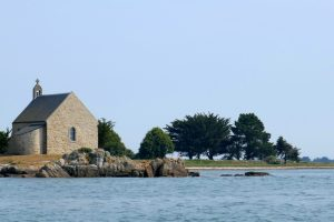 Kapelle auf der Île Boedic