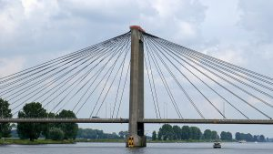 Brücke bei Heusden