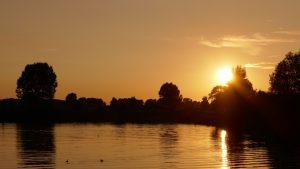 Sonnenuntergang Heusden