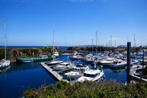 Beaucette Marina auf Guernsey