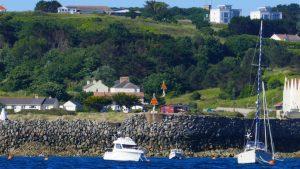 Richtfeuer Braye Harbour - Alderney